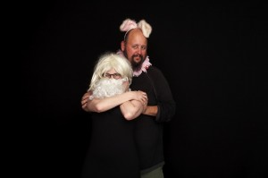 bearded me and bunny neb